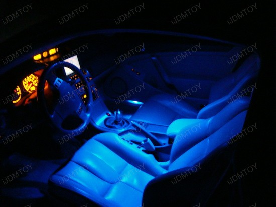 Led Lights On Infiniti G35 Blue Interior